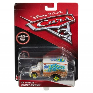 Dr. Damage 1:64 Disney Pixar Cars 3