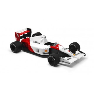 McLaren Honda MP4/5 Winner Monaco GP Champion F1 1989 Ayrton Senna 1:18