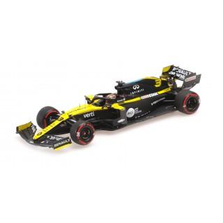 Renault  DP World RS20 F1 3th Eifel Gp 2020 Daniel Ricciardo 1:43