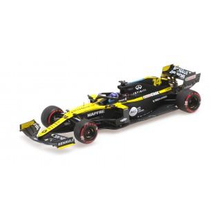 Renault  DP World RS20 F1 Test Barcelona 2020 Fernando Alonso 1:43