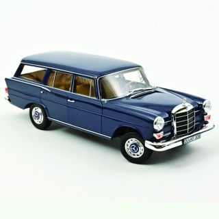 Mercedes-Benz 200 Universal 1966 Bleu Foncé 1:18