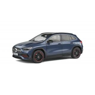 Mercedes-Benz GLA (H247) AMG Line 2019 Denim Blue Metallic 1:18