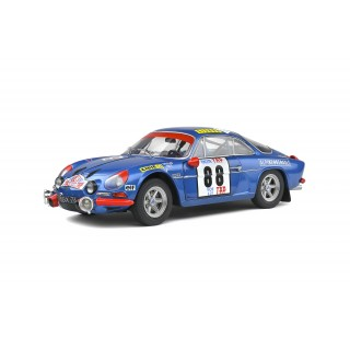 Alpine A110 1600S vincitore Rallye Portogallo 1971 Jean-Pierre Nicolas - Jean Todt 1:18