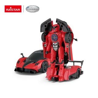 Pagani Zonda R Transformable Car 2015 rosso 1:32