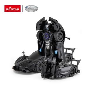 Pagani Zonda R Transformable Car 2015 nero 1:32