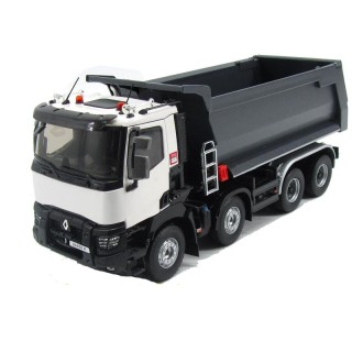 Renault Trucks K520 White Xtrem 8*4 Benne Meiller 1:24