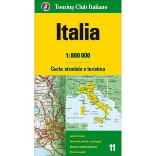 TCI Cartina Stradale ITALIA 1:800000