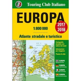 TCI Atlante Stradale EUROPA 1:800000