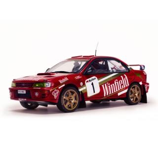 Subaru Impreza 555 2nd Belgium Ypres Westhoek Rally 1997 B.Thiry/S.Prévot 1:18