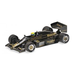 LOTUS RENAULT 97T 1985 Ayrton Senna 1:43