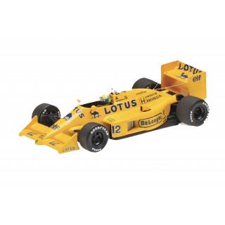 LOTUS HONDA 99T 1987 Ayrton Senna 1:43