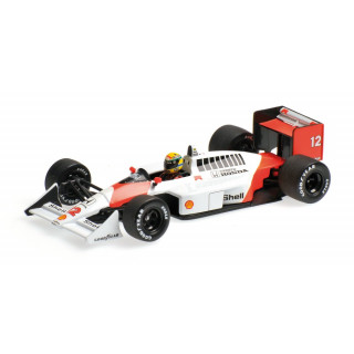 McLaren Honda MP4/4 F1 1988 World Champion Ayrton Senna 1:43