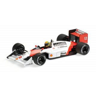 McLaren Honda MP4/4 F1 1988 World Champion Ayrton Senna 1:43