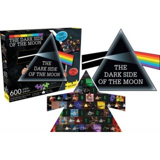Pink Floyd Dark Side of The  Moon Collage Prisme double face 600pz Aquarius