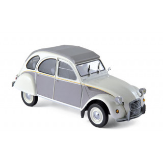 Citroën 2CV Dolly 1985 Meije White & Cormoran Grey 1:18