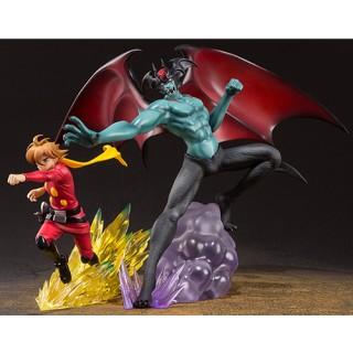 Cyborg009 vs Devilman zero Figuarts