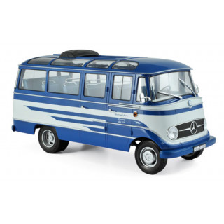 Mercedes-Benz O319 Bus 1957 - Blue & Beige 1:18