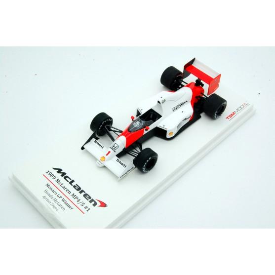 Mclaren Honda MP4/5 F1 1989 Winner Monaco Gp Ayrton Senna 1:43