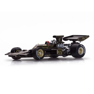 Lotus Ford 72D 1972 Winner Belgian GP Emerson Fittipaldi 1:43