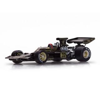 Lotus Ford 72D 1972 Winner Belgian GP Emerson Fittipaldi 1:43