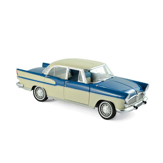 Simca Vedette Chambord 1960 Tropic Green & China Ivory 1:18