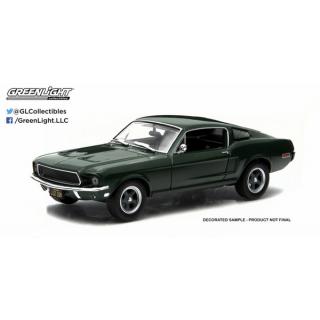 Ford Mustang GT Green 1968 Bullit Steve Mcqueen 1:43