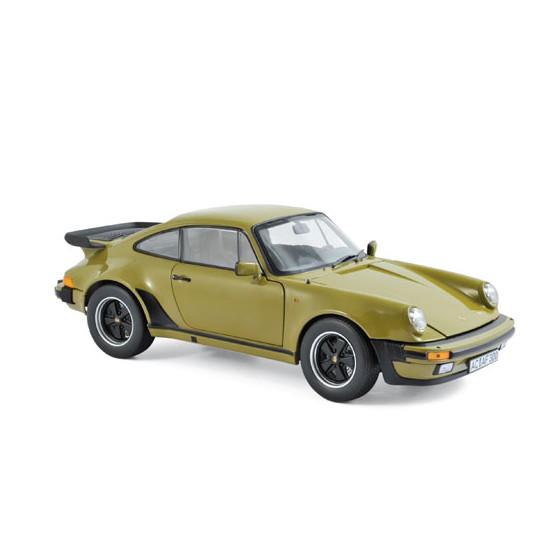 Porsche 911 Turbo 3.3l 1977 Olive Green 1:18