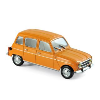 Renault 4 1974 Orange 1:43
