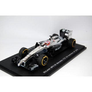 McLaren Mercedes MP4/29 Jenson Button 2° GP d'Australia 2014 1:43