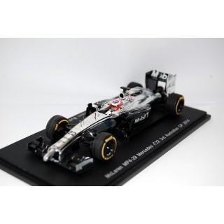 McLaren Mercedes MP4/29 Jenson Button 2° GP d'Australia 2014 1:43