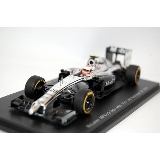 McLaren Mercedes MP4/29 Kevin Magnussen 2° GP d'Australia 2014 1:43