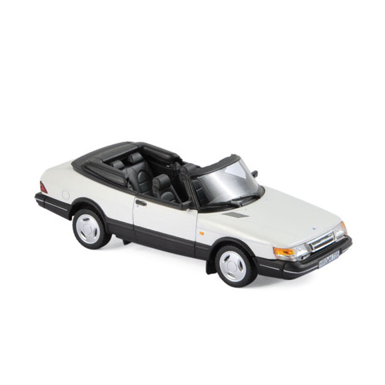 Saab 900 Turbo 16 Cabriolet 1992 White 1:43