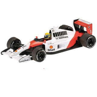Mclaren Honda MP4/6 F1 1911 World Champion Ayrton Senna 1:43