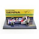 Toleman Hart TG 183 B F1 1984 Gp Brazil Debut Ayrton Senna 1:43