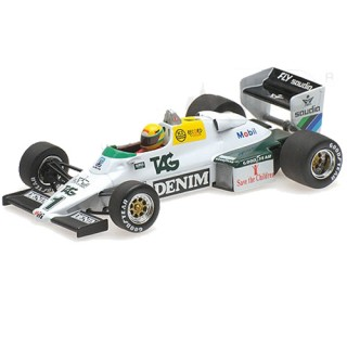 Williams Ford FW08C F1 Test Doninghton 19 july 1983 Ayrton Senna 1:43