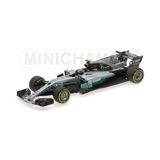 Mercedes Amg Petronas W08 F1 2017 Vatteri Bottas  Spanish Gp 1:43