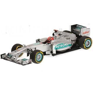 Mercedes Amg Petronas F1 2012 Michael Schumacher Showcar 1:43