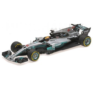 Mercedes Amg Petronas W08 F1 2017 Lewis Hamilton Winner Spanish Gp 1:43