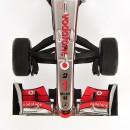 Mclaren Mercedes Vodafone MP4/25 F1 2010 Jenson Button 1:43