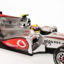 Mclaren Mercedes Vodafone MP4/25 F1 2010 Lewis Hamilton 1:43
