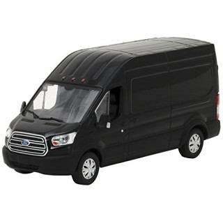 Ford Transit 2017 Extended Van High Roof Black 1:43