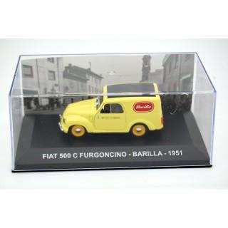 """Fiat 500 C 1961 furgoncino """"Barilla"""" 1:43"""