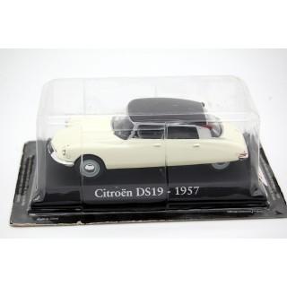 Citroen DS19 1957 white 1:43