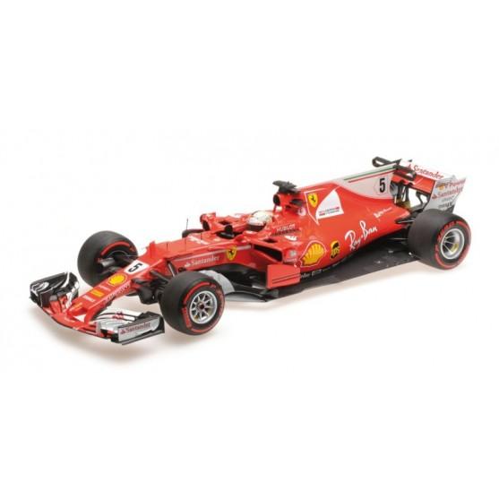 Ferrari SF70-H F1 Winner Monaco Gp 2017 Sebastian Vettel 1:18