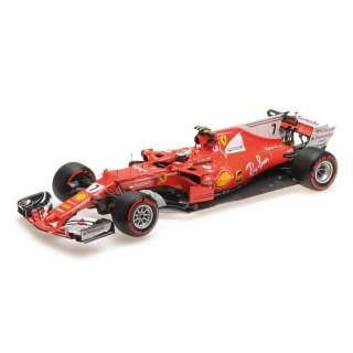 Ferrari SF70-H F1 Monaco Gp 2017 Kimi Raikkonen 1:18