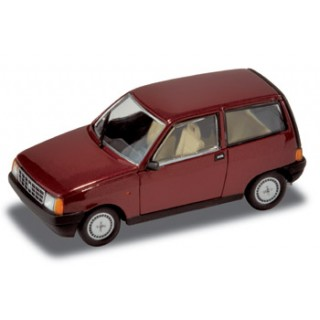 Autobianchi Y10 1985 Amaranto Red Metallic 1:43