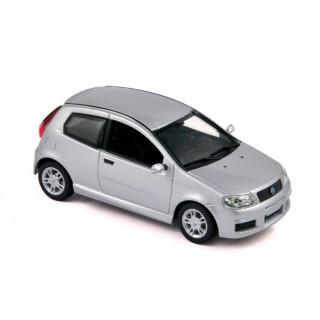 Fiat Punto Sporting 2003 Silver 1:43