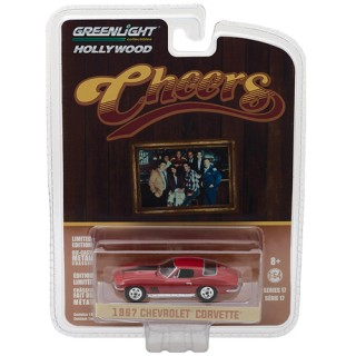 "Chevrolet Corvette 1967 ""Cheers"" 1:64"