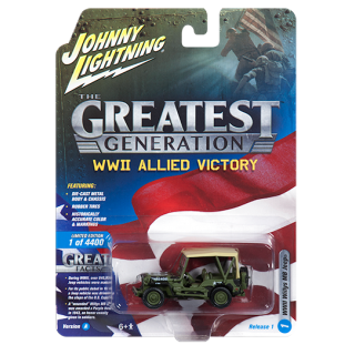 Jeep Willys MB World War II 1:64 Collection 1/6