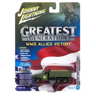 GMC CCKW 2½ ton 6x6 TK World War II 1:64 Collection 3/6